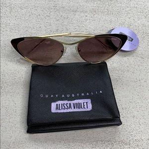 QUAY Australia Alissa Violet Sunglasses